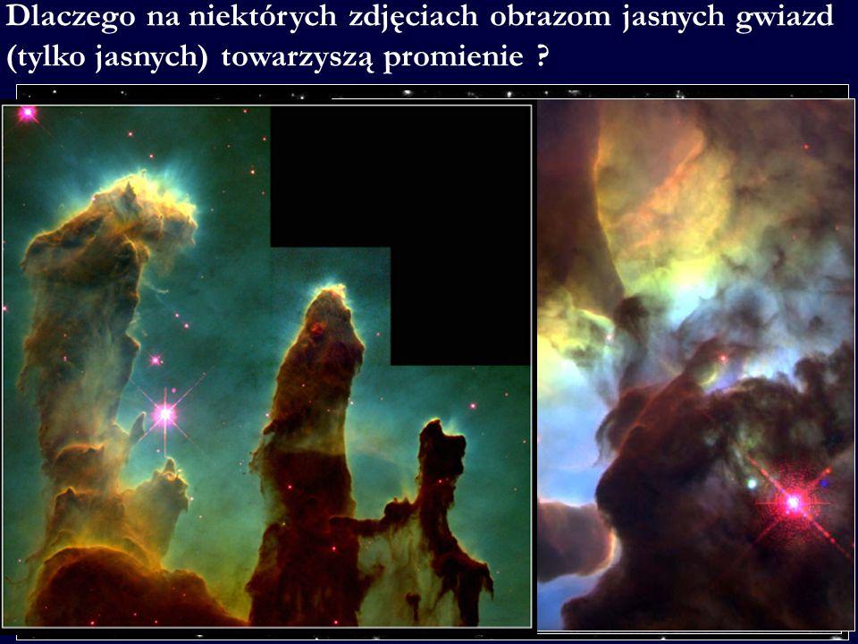 Bo w wielu teleskopach zwierciadlanych tzw.