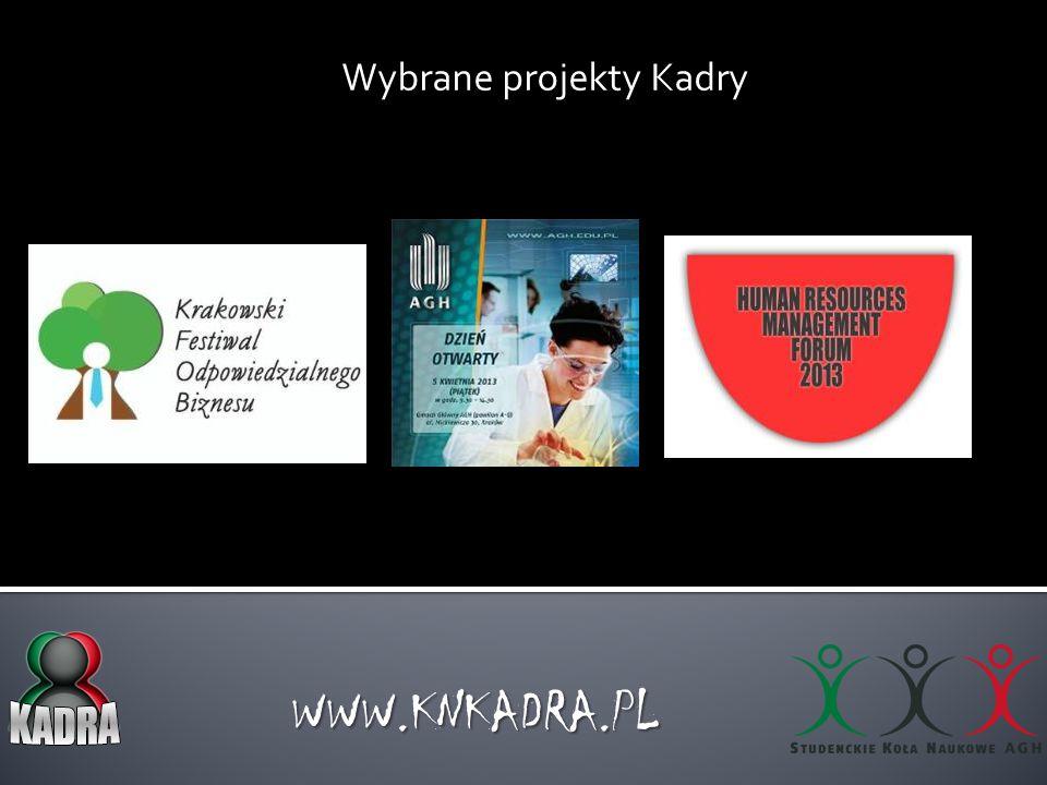 """Badania naukowe Kadry WWW.KNKADRA.PL """"Zarządzanie kapitałem ludzkim w organizacjach non-profit """"Luki kompetencyjne absolwentów szkół wyższych na krakowskim rynku pracy"""