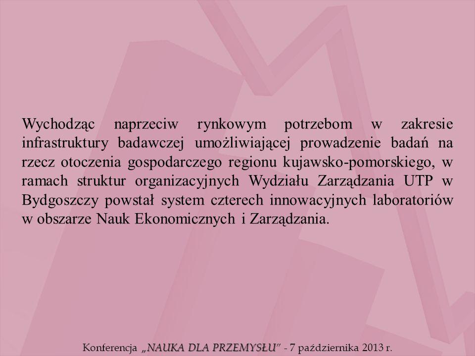 """""""NAUKA DLA PRZEMYSŁU Konferencja """"NAUKA DLA PRZEMYSŁU - 7 października 2013 r."""