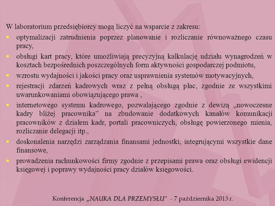Laboratorium Systemów Rachunkowości Zarządczej i Controllingu Kierownik Laboratorium: prof.