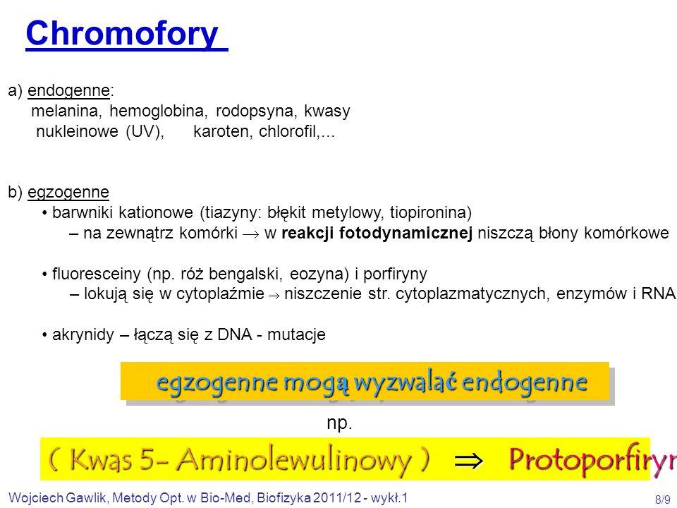 Wojciech Gawlik, Metody Opt.