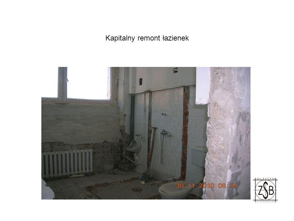 Kapitalny remont łazienek