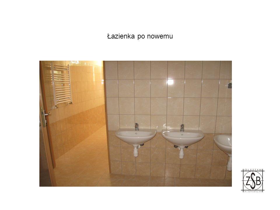 Łazienka po nowemu