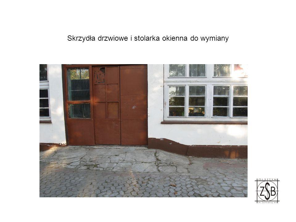 Skrzydła drzwiowe i stolarka okienna do wymiany