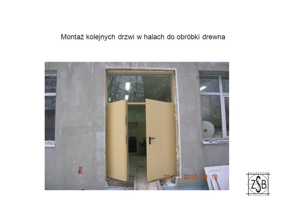 Wymiana stolarki okiennej i drzwiowej