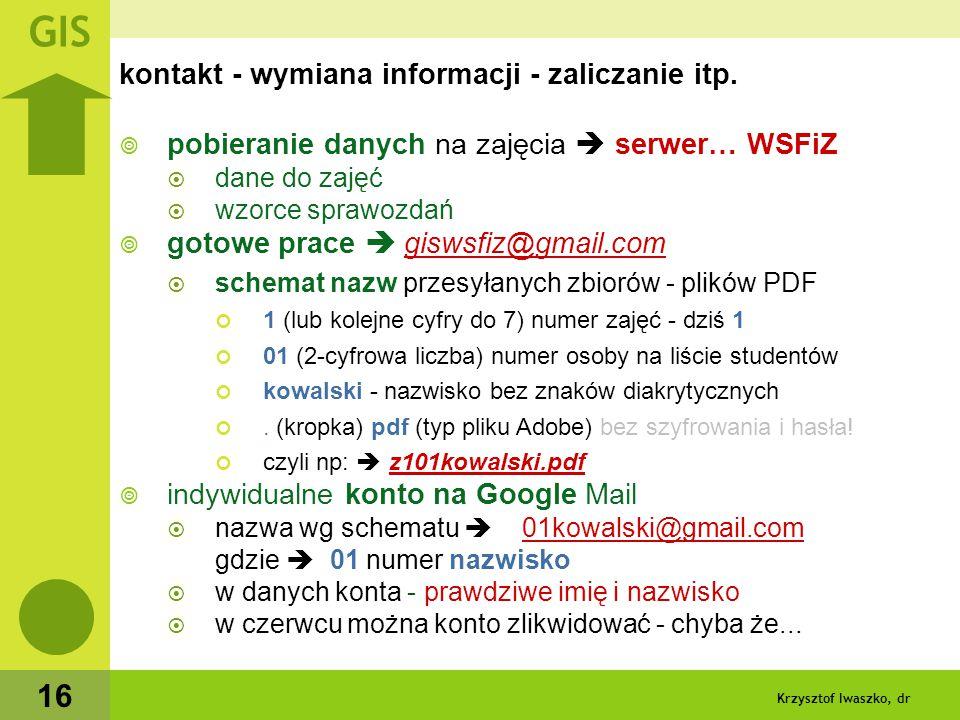 Krzysztof Iwaszko, dr 17 Literatura / pomoce  David E.