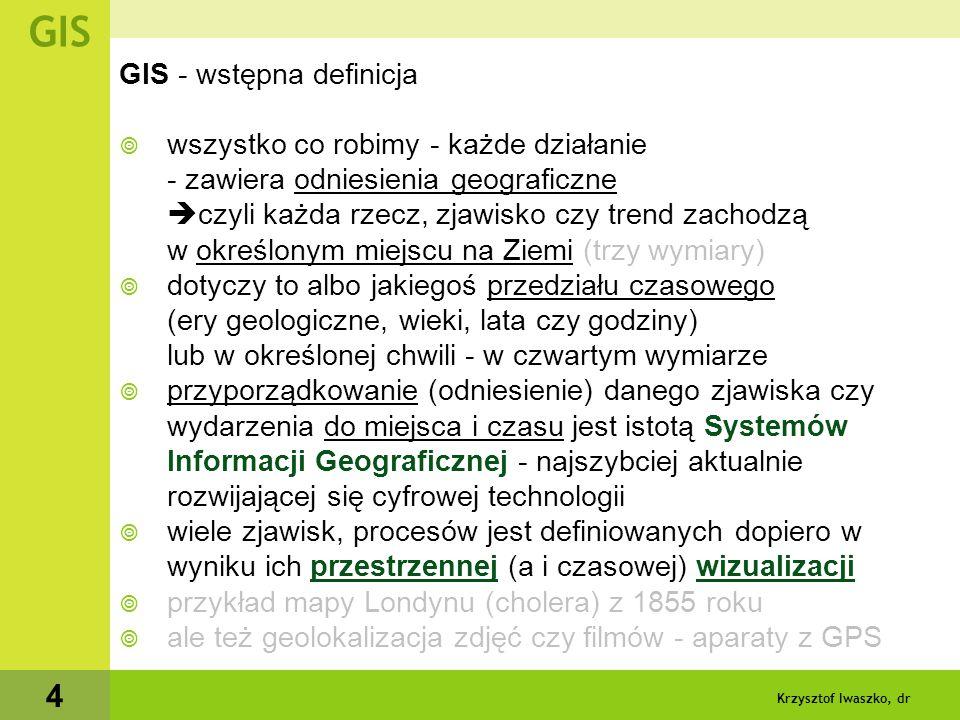 """Krzysztof Iwaszko, dr 5 GIS """"Zielona wyspa"""