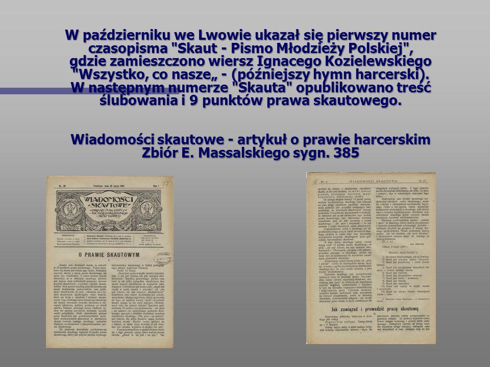 W październiku we Lwowie ukazał się pierwszy numer czasopisma