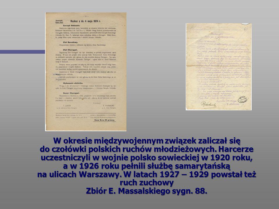 W okresie międzywojennym związek zaliczał się do czołówki polskich ruchów młodzieżowych. Harcerze uczestniczyli w wojnie polsko sowieckiej w 1920 roku