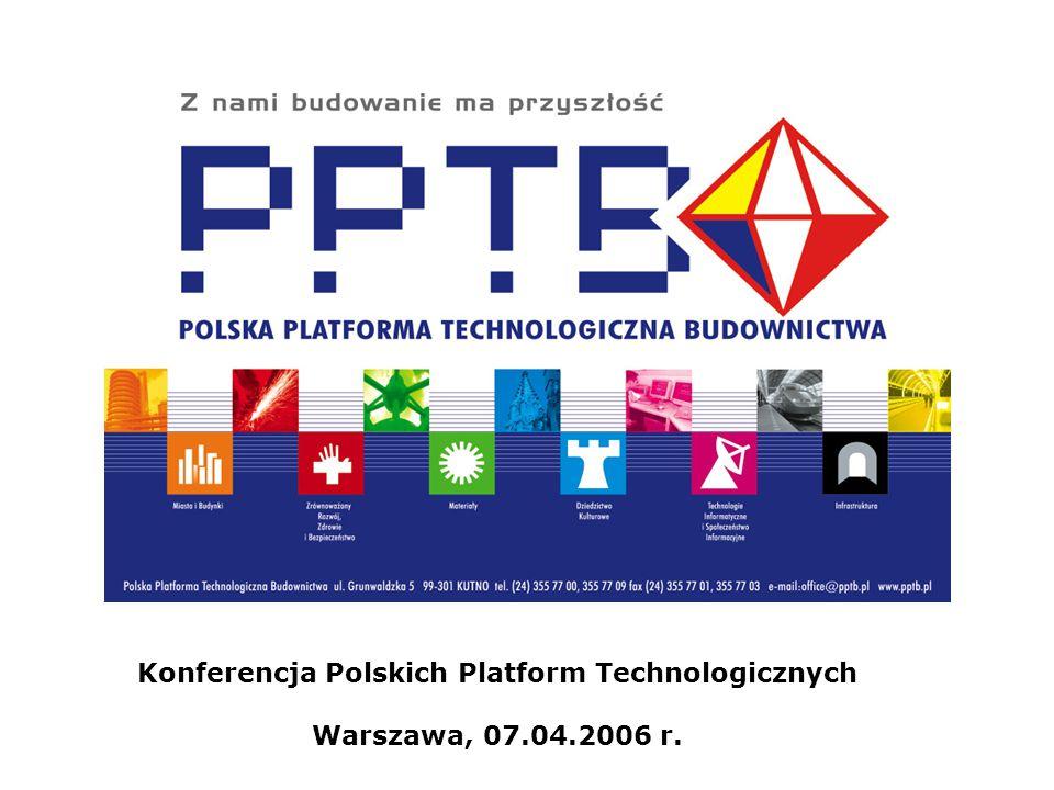 Konferencja Polskich Platform Technologicznych Warszawa, 07.04.2006 r.