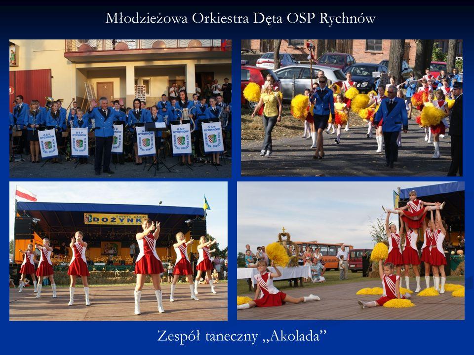 """Młodzieżowa Orkiestra Dęta OSP Rychnów Zespół taneczny """"Akolada"""