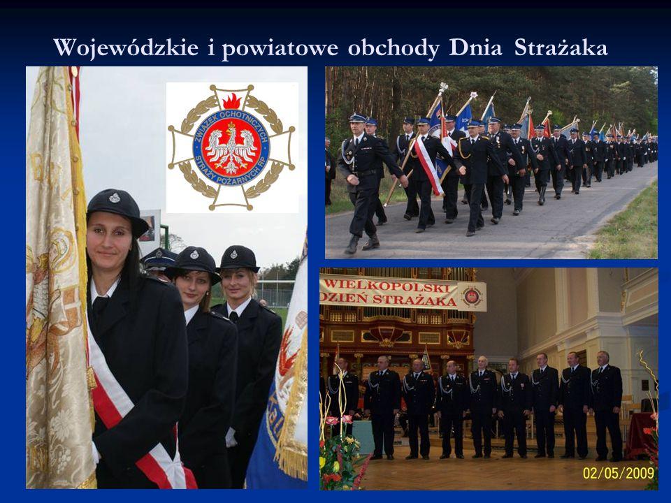 Wojewódzkie i powiatowe obchody Dnia Strażaka