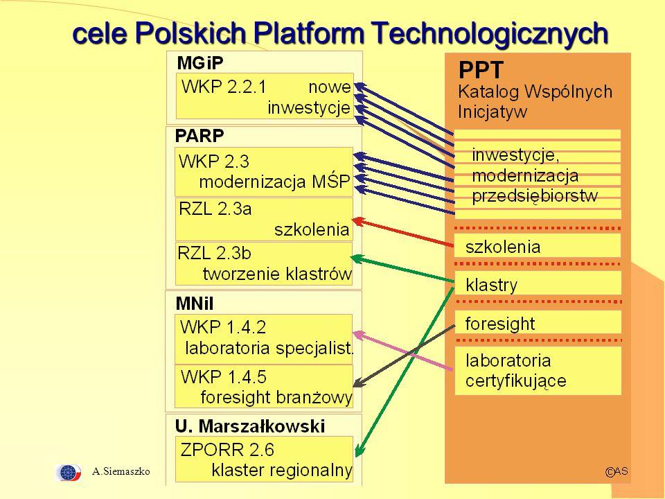 A.Siemaszko 9 cele Polskich Platform Technologicznych