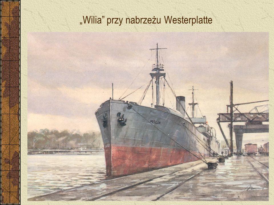 """""""Wilia"""" przy nabrzeżu Westerplatte"""