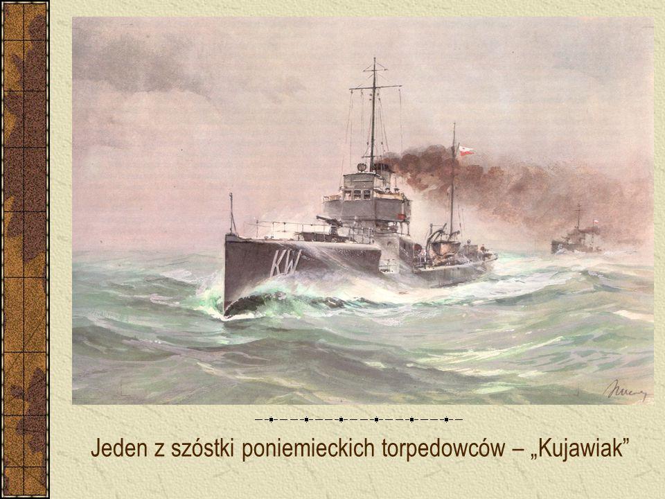 """Jeden z szóstki poniemieckich torpedowców – """"Kujawiak"""""""
