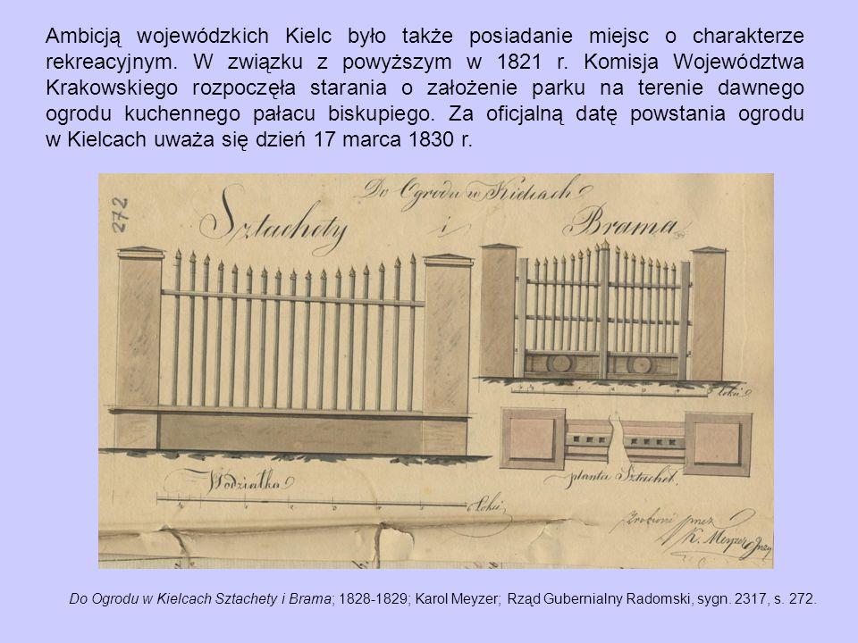 Ambicją wojewódzkich Kielc było także posiadanie miejsc o charakterze rekreacyjnym.