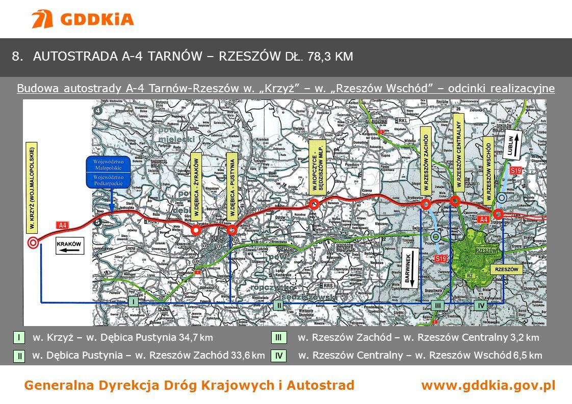 Generalna Dyrekcja Dróg Krajowych i Autostradwww.gddkia.gov.pl pododcinek Lutoryż (Kielanówka ) – Miejsce Piastowe I Niebylec Tylawa 20.