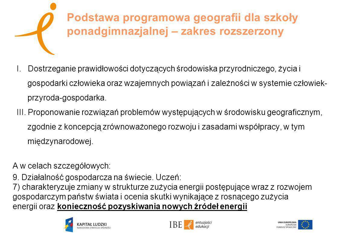 Badania, w których sprawdzane są umiejętności geograficzne 1/ Program Międzynarodowej Oceny Umiejętności Uczniów – PISA (Programme for International Student Assessment).