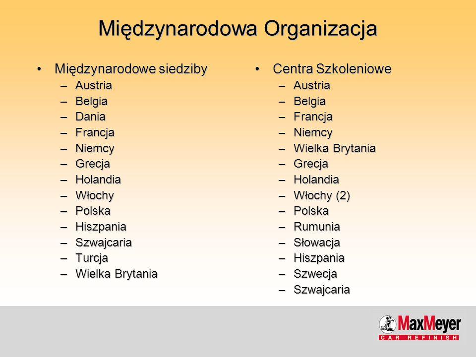 Międzynarodowa Organizacja Międzynarodowe siedzibyMiędzynarodowe siedziby –Austria –Belgia –Dania –Francja –Niemcy –Grecja –Holandia –Włochy –Polska –