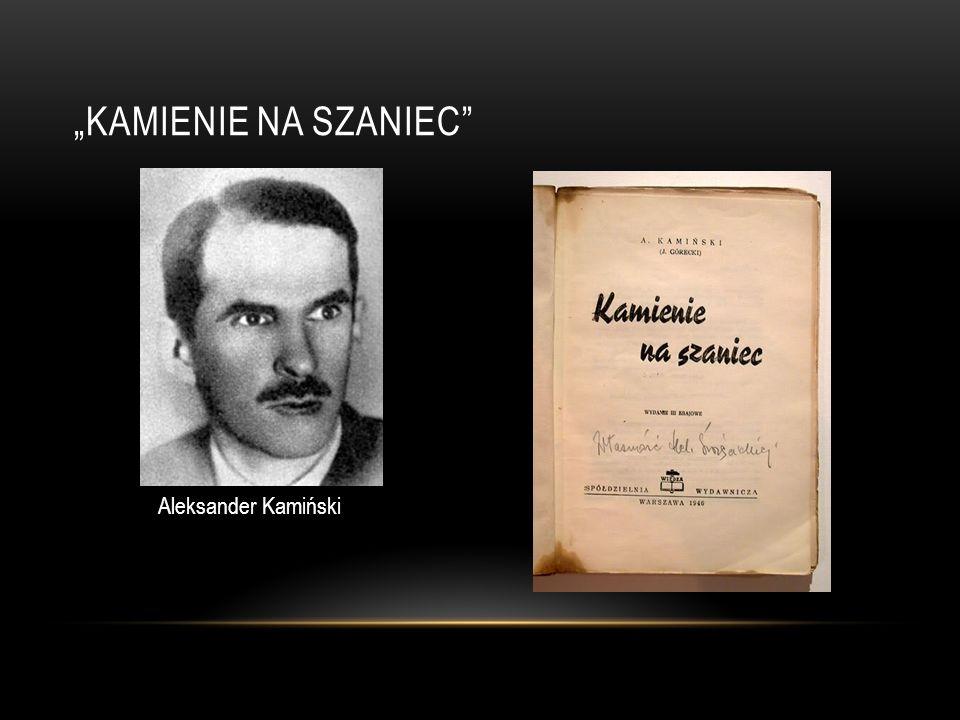 GŁÓWNI BOHATEROWIE Maciej Aleksy Dawidowski - Alek Jan Bytnar - Rudy Tadeusz Zawadzki - Zośka