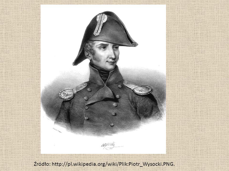 Źródło: http://pl.wikipedia.org/wiki/Plik:Piotr_Wysocki.PNG.