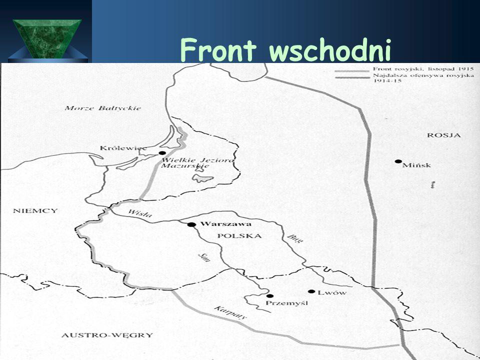 Front zachodni 1918