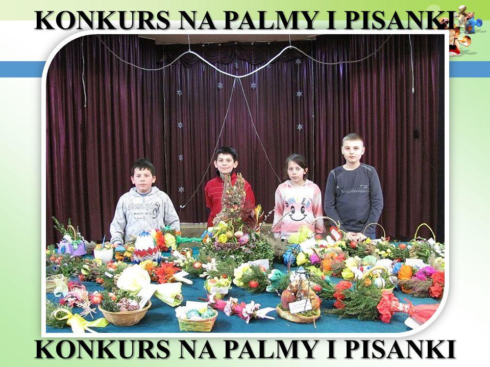 KONKURS NA PALMY I PISANKI