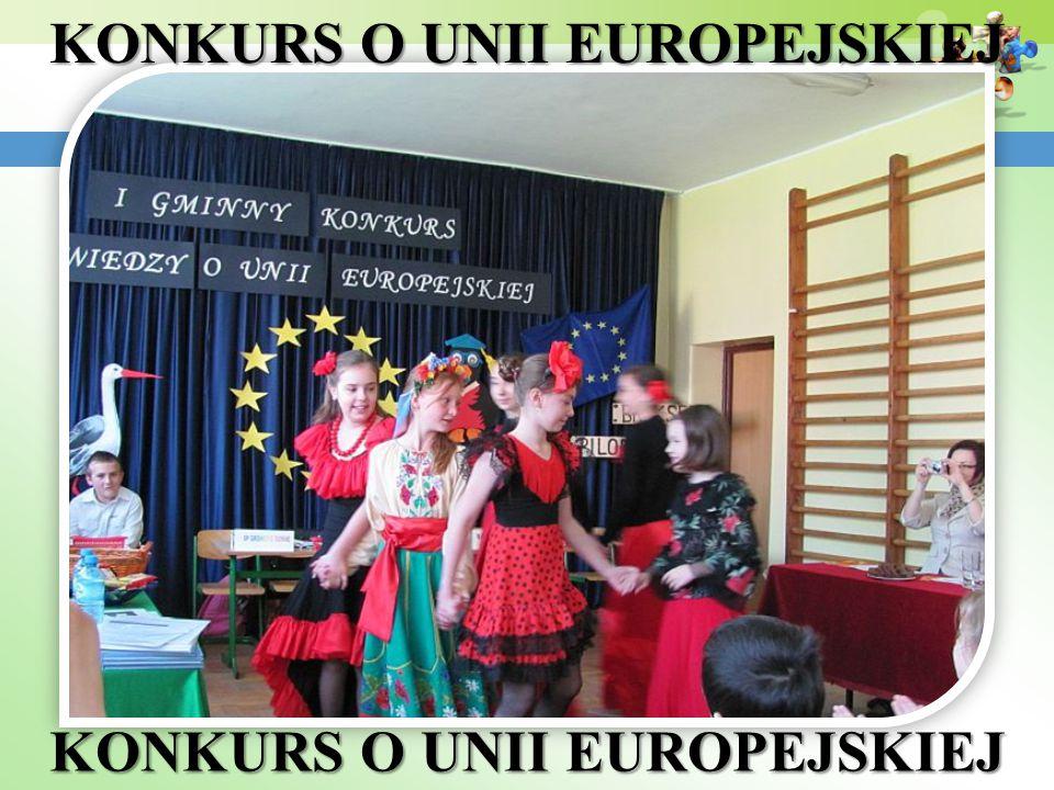 KONKURS O UNII EUROPEJSKIEJ