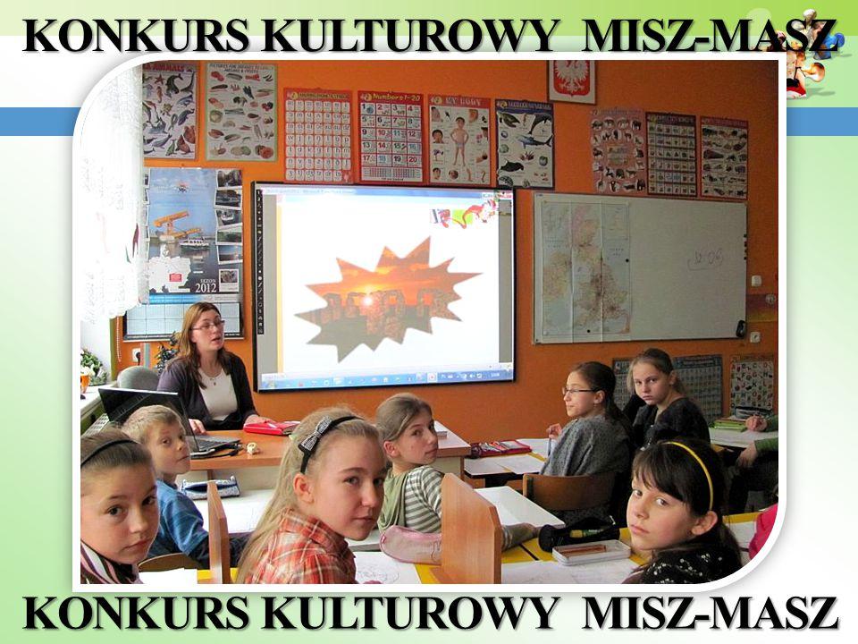 KONKURS KULTUROWY MISZ-MASZ