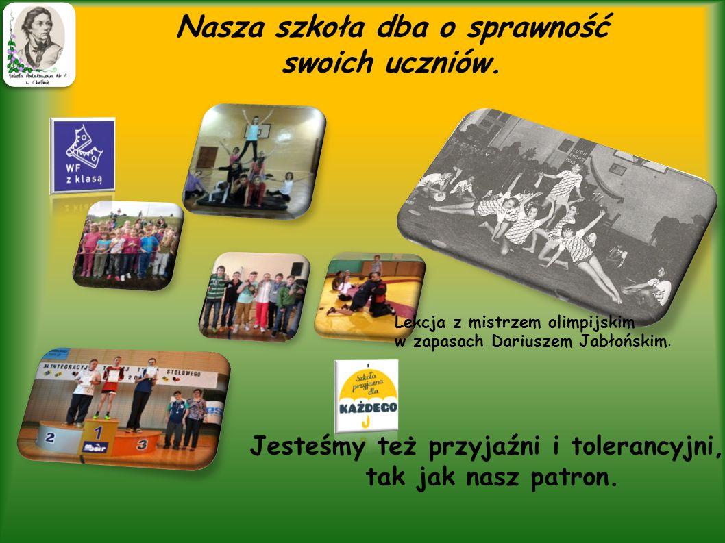 Krakowiak, polonez, mazur -tańczą kolejne pokolenia naszych uczniów.