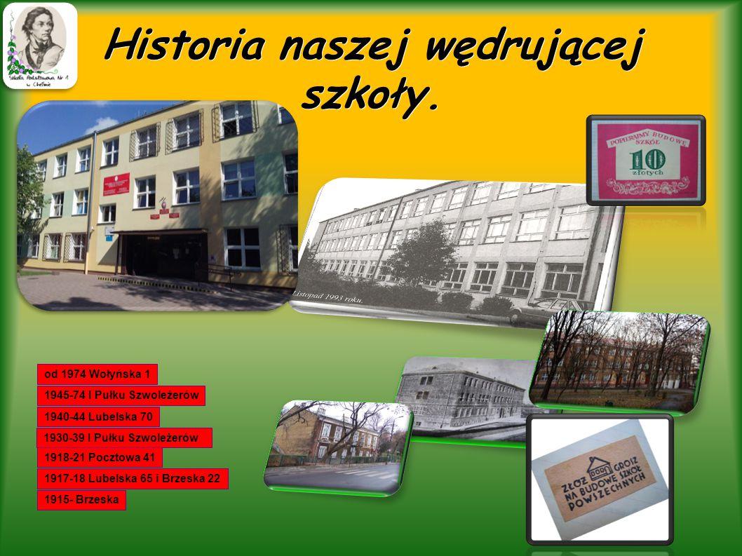 Historia naszej wędrującej szkoły.