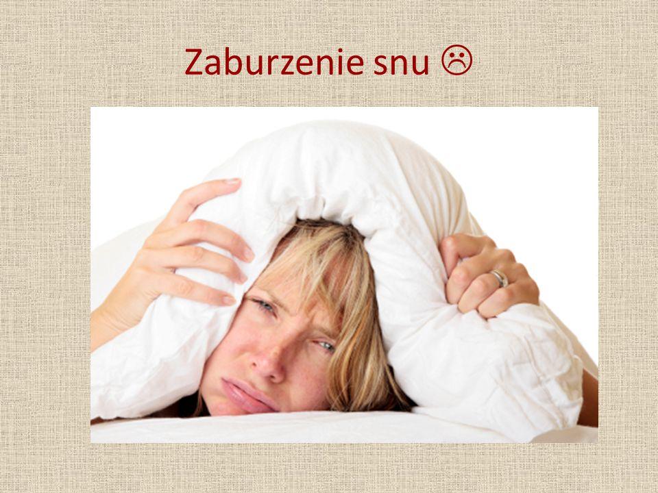 Zaburzenie snu 