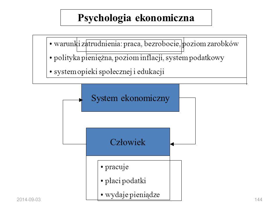 2014-09-03143 Psychologia Konsumenta: Cel: opis zachowań konsumenckich z perspektywy psychologicznej Główne pojęcia: potrzeby, motywacja, reakcje na b