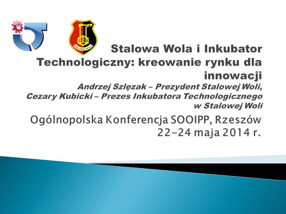 Ogólnopolska Konferencja SOOIPP, Rzeszów 22-24 maja 2014 r.