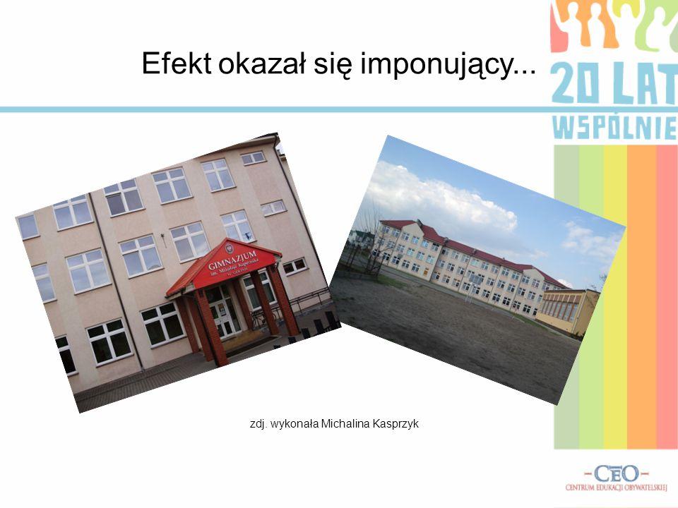 Efekt okazał się imponujący... zdj. wykonała Michalina Kasprzyk