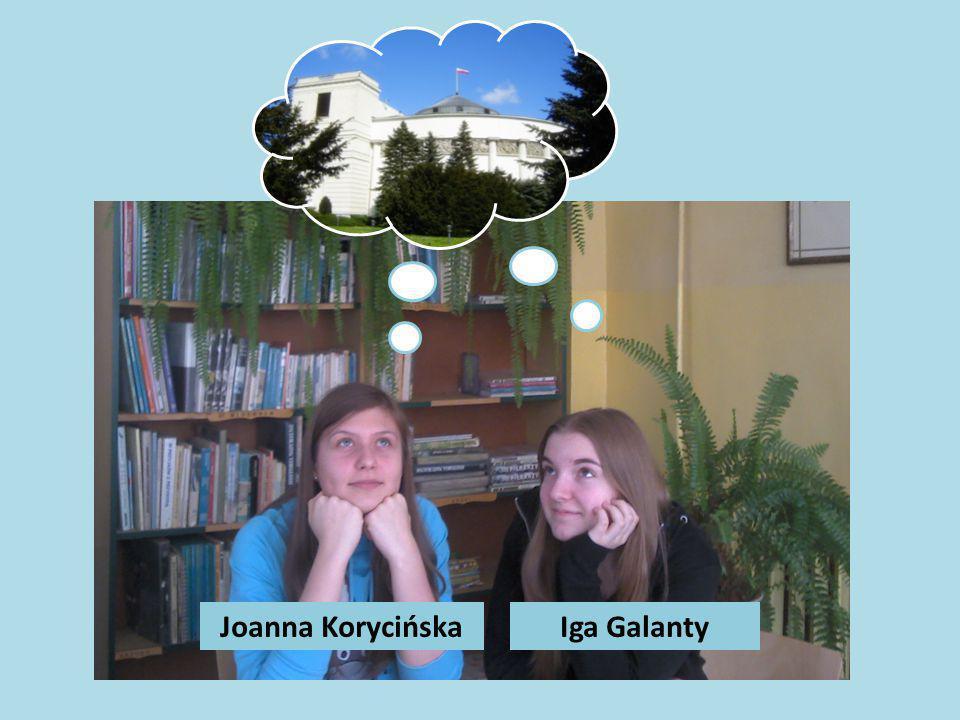 Joanna KorycińskaIga Galanty