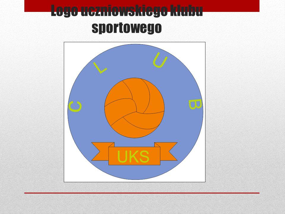 Logo uczniowskiego klubu sportowego