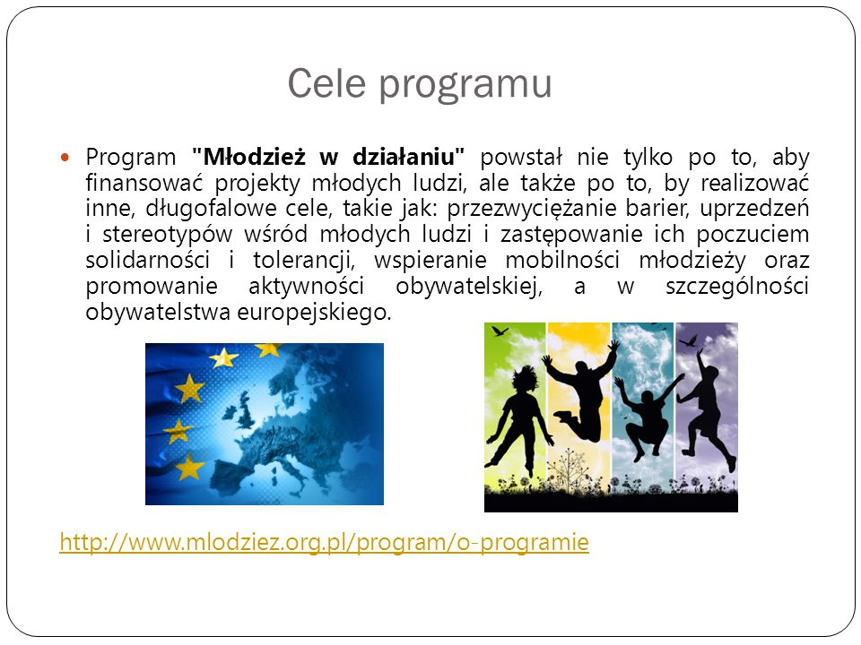 Cele programu Program