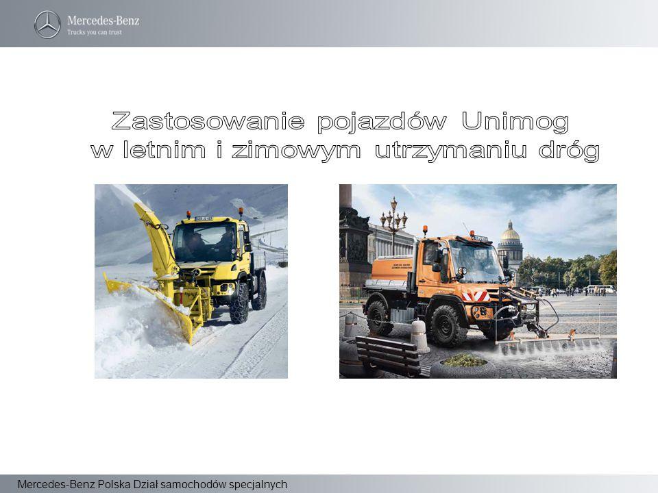 Mercedes-Benz Polska Dział samochodów specjalnych