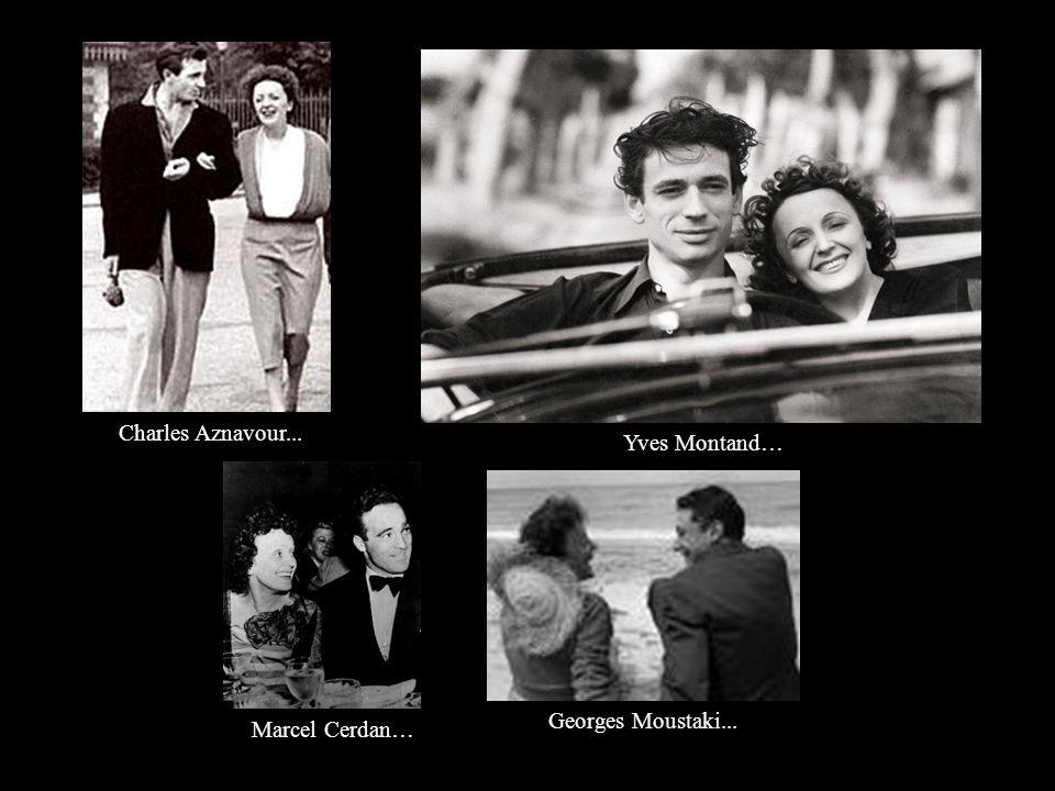 była dwukrotnie zamężna miała wielu kochanków (wśród nich byli m.in. Yves Montand, Gilbert Bécaud, Georges Moustaki, John Garfield czy Charles Aznavou