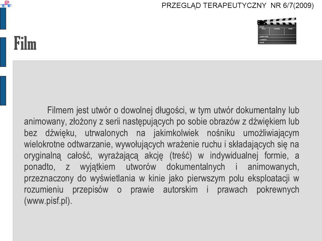 Obsada PRZEGLĄD TERAPEUTYCZNY NR 6/7(2009)
