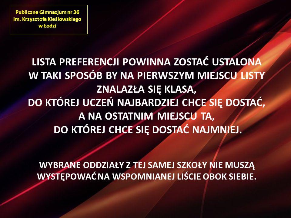 Publiczne Gimnazjum nr 36 im.