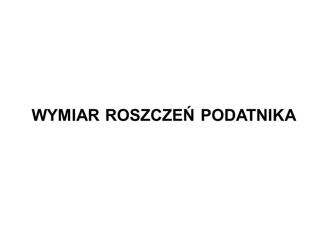 Postępowanie w sprawie nadpłaty a postępowanie w sprawie wymiaru (2) Wyrok NSA z 29 listopada 2011 r., sygn.