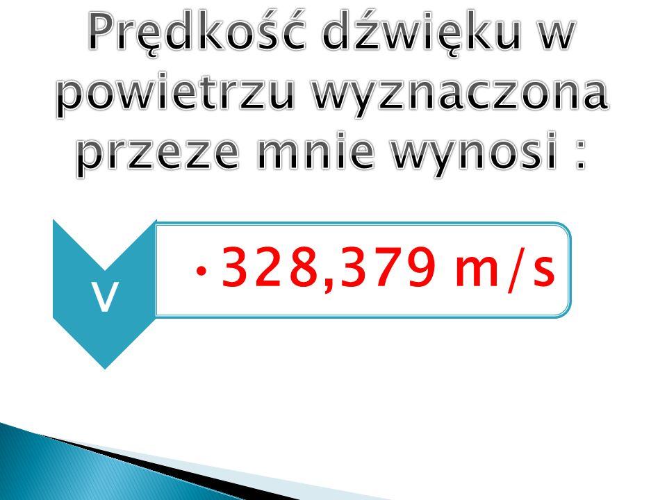 v 328,379 m/s