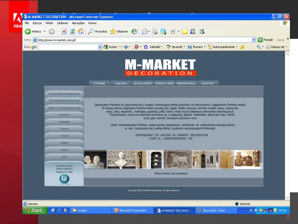 GRAFIKA ANIMACYJNA Modyfikacja dokumentu  Modyfikuj > Dokument 29