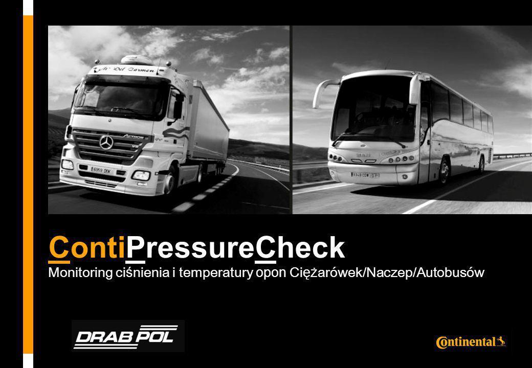 ContiPressureCheck Monitoring ci ś nienia i temperatury opon Ci ęż arówek/Naczep/Autobusów