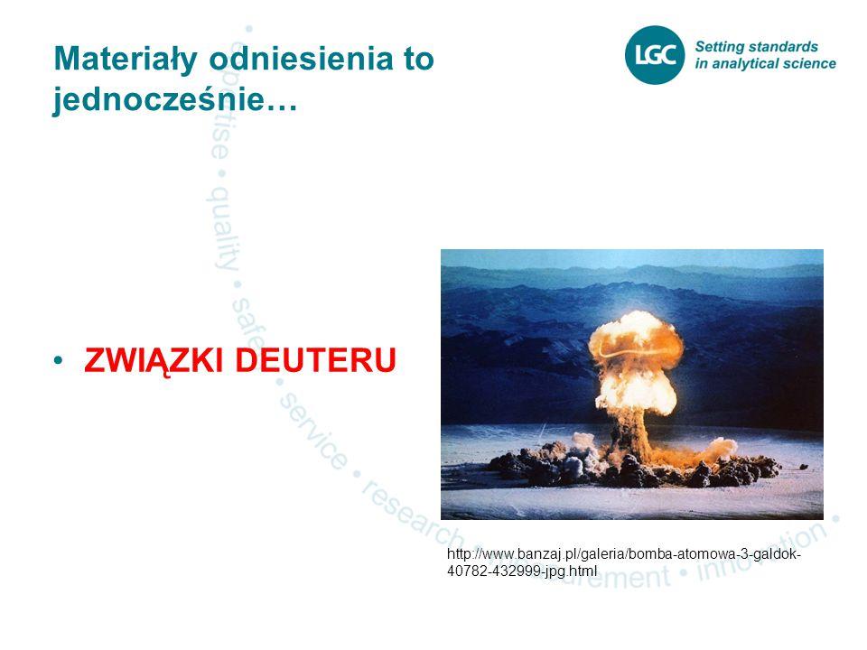 Materiały odniesienia to jednocześnie… ZWIĄZKI DEUTERU http://www.banzaj.pl/galeria/bomba-atomowa-3-galdok- 40782-432999-jpg.html