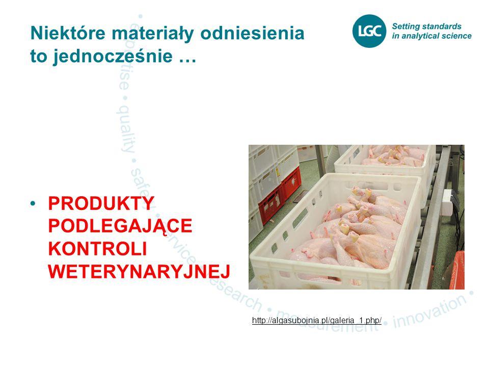 Niektóre materiały odniesienia to jednocześnie … PRODUKTY PODLEGAJĄCE KONTROLI WETERYNARYJNEJ http://algasubojnia.pl/galeria_1.php/