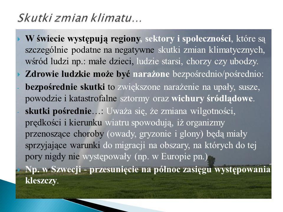  W Polsce zmiany klimatu mogą być sprzyjające (np.
