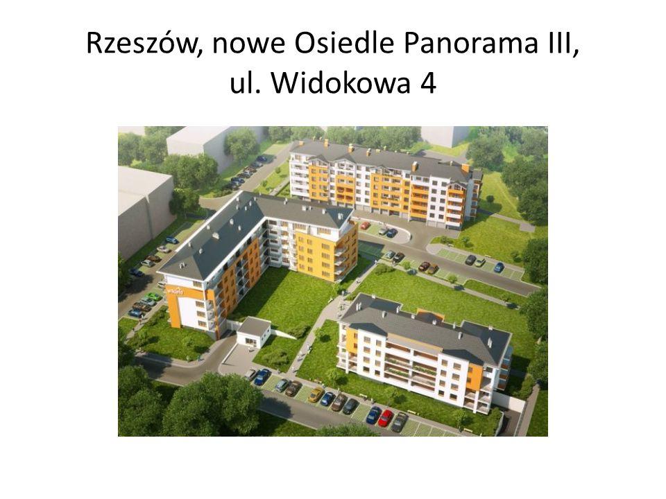 Rzeszów, nowe Osiedle Panorama III, ul. Widokowa 4